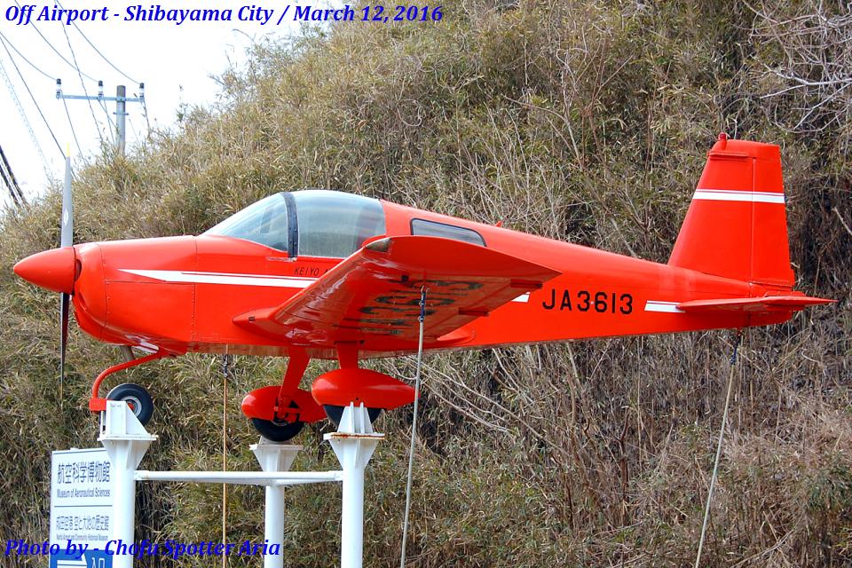 Chofu Spotter Ariaさんの京葉航空 American AA-1 Yankee (JA3613) 航空フォト