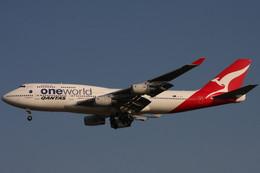 Itami Spotterさんが、スワンナプーム国際空港で撮影したカンタス航空 747-438の航空フォト(写真)