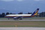 kumagorouさんが、鹿児島空港で撮影した日本エアシステム A300B2K-3Cの航空フォト(飛行機 写真・画像)