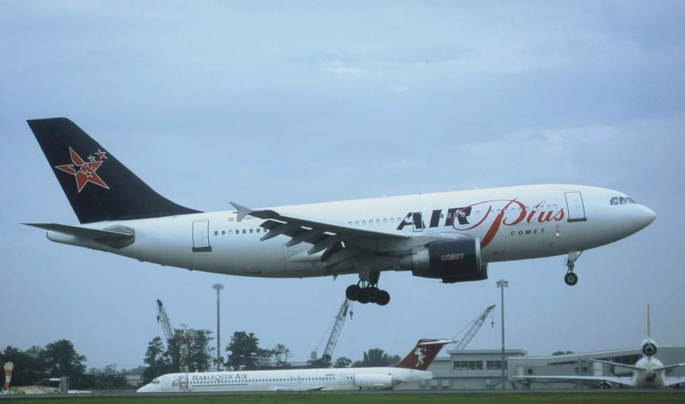 kumagorouさんのエア・プラス・コメット Airbus A310-300 (EC-GOT) 航空フォト