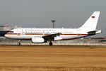 B747さんが、成田国際空港で撮影したドイツ空軍 A319-133X CJの航空フォト(飛行機 写真・画像)