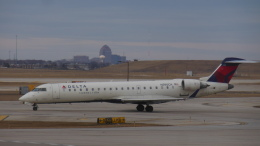 ゴンタさんが、オヘア国際空港で撮影したコムエアー CL-600-2C10 Regional Jet CRJ-700の航空フォト(飛行機 写真・画像)