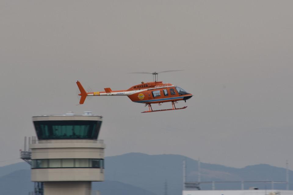 tsubasa0624さんの新日本ヘリコプター Bell 206/406 (JA9847) 航空フォト