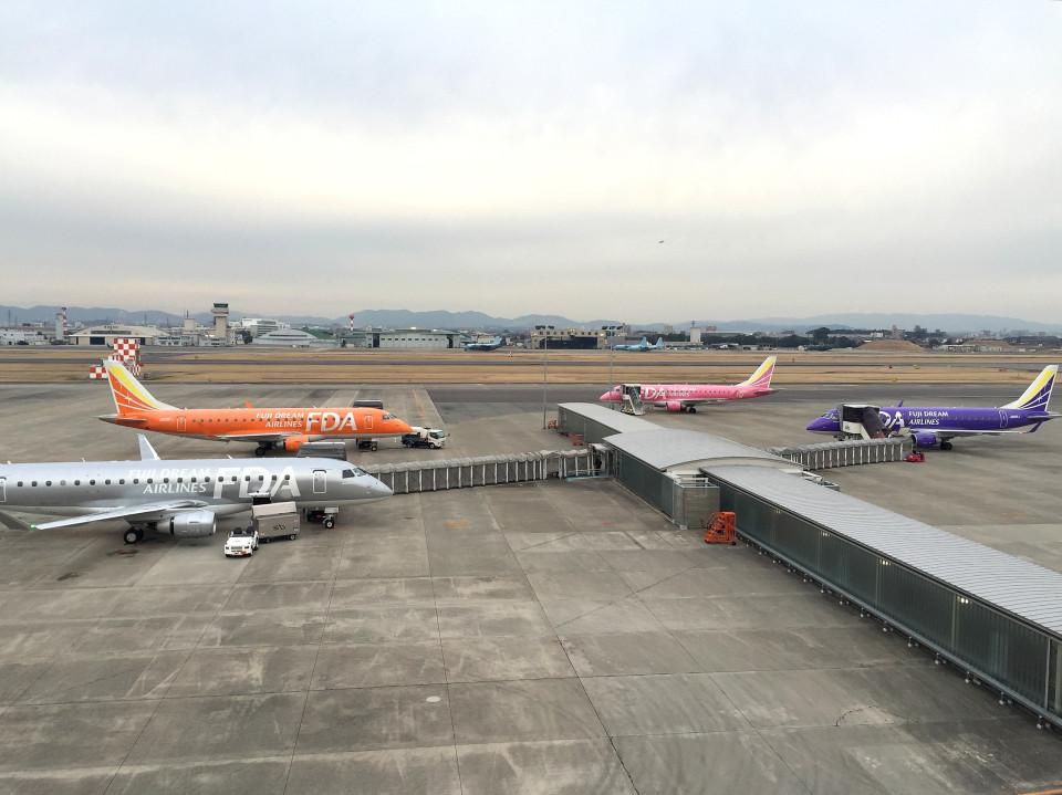 tsubasa0624さんのフジドリームエアラインズ Embraer 175 (JA10FJ) 航空フォト