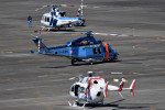 tsubasa0624さんが、名古屋飛行場で撮影した富山県警察 AW139の航空フォト(写真)