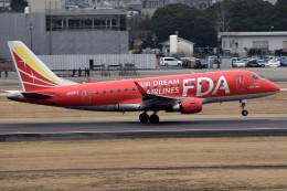 tsubasa0624さんが、名古屋飛行場で撮影したフジドリームエアラインズ ERJ-170-100 (ERJ-170STD)の航空フォト(飛行機 写真・画像)