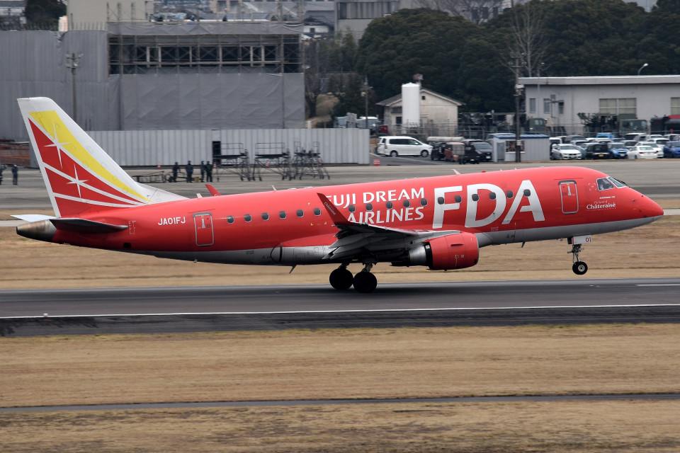 tsubasa0624さんのフジドリームエアラインズ Embraer ERJ-170 (JA01FJ) 航空フォト