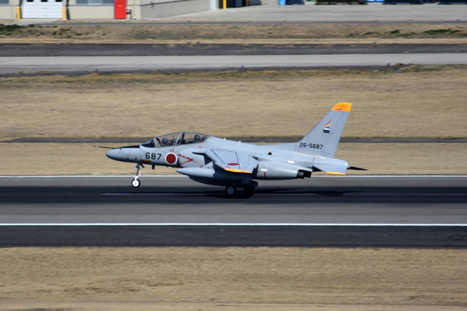 tsubasa0624さんの航空自衛隊 Kawasaki T-4 (26-5687) 航空フォト