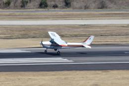 tsubasa0624さんが、名古屋飛行場で撮影した中日本航空 172P Skyhawkの航空フォト(飛行機 写真・画像)