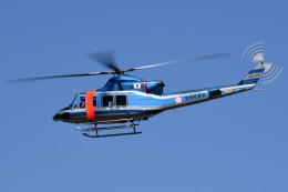 tsubasa0624さんが、名古屋飛行場で撮影した愛知県警察 412EPの航空フォト(飛行機 写真・画像)