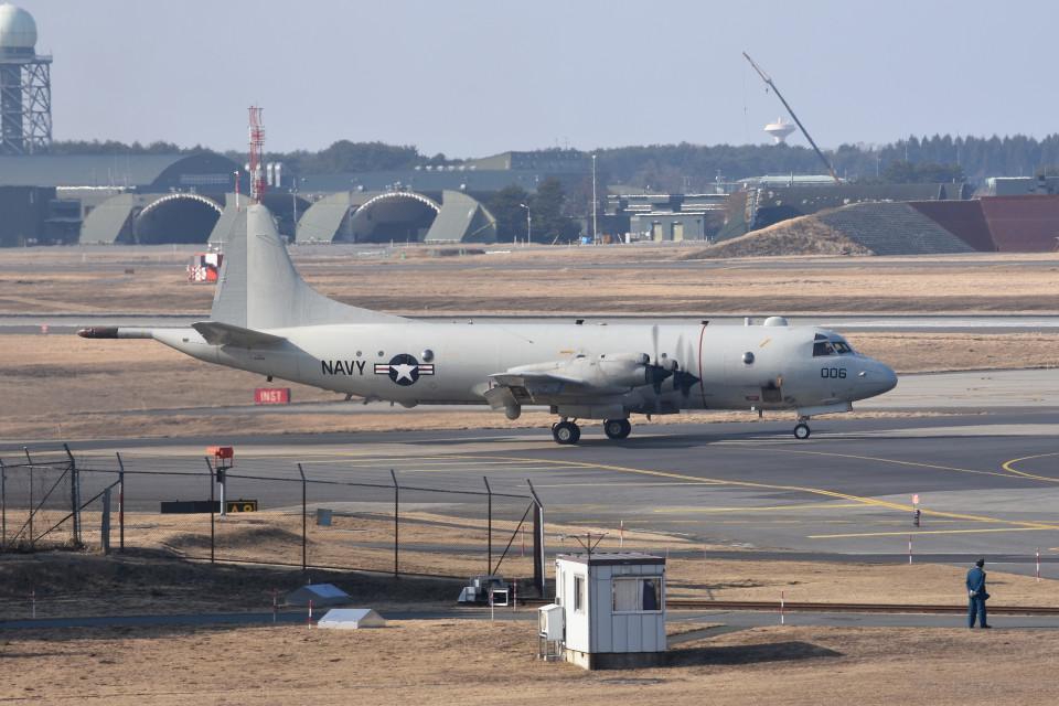 tsubasa0624さんのアメリカ海軍 Lockheed P-3 Orion (163006) 航空フォト