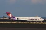 DAWNさんが、コナ国際空港で撮影したハワイアン航空 717-2BLの航空フォト(飛行機 写真・画像)