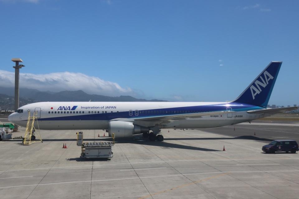 DAWNさんの全日空 Boeing 767-300 (JA616A) 航空フォト