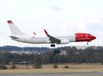 アイスコーヒーさんが、エディンバラ空港で撮影したノルウェー・エア・インターナショナル 737-8JPの航空フォト(飛行機 写真・画像)