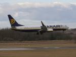 アイスコーヒーさんが、エディンバラ空港で撮影したライアンエア 737-8ASの航空フォト(飛行機 写真・画像)