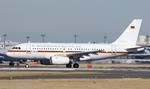 tsukatakuさんが、成田国際空港で撮影したドイツ空軍 A319-133X CJの航空フォト(飛行機 写真・画像)