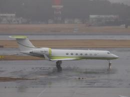FT51ANさんが、成田国際空港で撮影したTAESA C-37B Gulfstream G550 (G-V-SP)の航空フォト(飛行機 写真・画像)