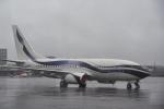 パンダさんが、成田国際空港で撮影したインターナショナル・ジェットクラブ 737-7GV BBJの航空フォト(写真)