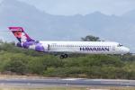 Y-Kenzoさんが、ダニエル・K・イノウエ国際空港で撮影したハワイアン航空 717-26Rの航空フォト(写真)