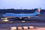 tsubasa0624さんが、成田国際空港で撮影した大韓航空 747-4B5F/SCDの航空フォト(飛行機 写真・画像)
