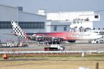 tsubasa0624さんが、成田国際空港で撮影したエティハド航空 A340-642Xの航空フォト(写真)