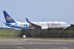 JA8961RJOOさんが、成田国際空港で撮影したマンダリン航空 737-8SHの航空フォト(写真)