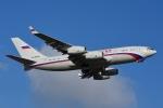 RUSSIANSKIさんが、シンガポール・チャンギ国際空港で撮影したロシア航空 Il-96-300の航空フォト(飛行機 写真・画像)