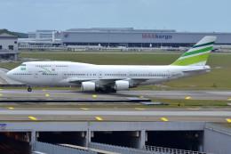 Korean Air KEさんが、クアラルンプール国際空港で撮影したフライナス 747-428Mの航空フォト(飛行機 写真・画像)