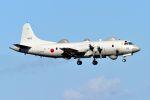 うめやしきさんが、厚木飛行場で撮影した海上自衛隊 EP-3の航空フォト(写真)