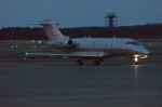 北の熊さんが、新千歳空港で撮影したビスタジェット BD-100-1A10 Challenger 350の航空フォト(写真)