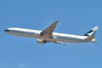 hiko_chunenさんが、成田国際空港で撮影したキャセイパシフィック航空 777-367の航空フォト(飛行機 写真・画像)
