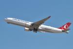 hiko_chunenさんが、成田国際空港で撮影したターキッシュ・エアラインズ A330-303の航空フォト(飛行機 写真・画像)