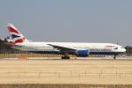 hiko_chunenさんが、成田国際空港で撮影したブリティッシュ・エアウェイズ 777-236/ERの航空フォト(飛行機 写真・画像)