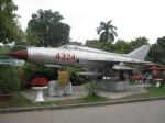 空の一つ星さんが、ベトナム軍事歴史博物館で撮影したソビエト空軍 MiG-21の航空フォト(写真)