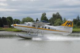 kiheiさんが、バンクーバー国際空港で撮影したハーバー・エア・シープレーンズ DHC-3T Vazar Turbine Otterの航空フォト(写真)