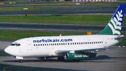 twinengineさんが、シドニー国際空港で撮影したノーフォーク・エア 737-229/Advの航空フォト(飛行機 写真・画像)