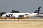 hiko_chunenさんが、成田国際空港で撮影したLOTポーランド航空 787-8 Dreamlinerの航空フォト(写真)