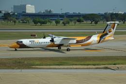 SINGCARGOさんが、ドンムアン空港で撮影したノックエア DHC-8-402Q Dash 8の航空フォト(飛行機 写真・画像)