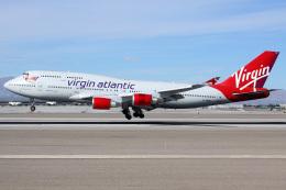 マッカラン国際空港 - McCarran International Airport [LAS/KLAS]で撮影されたヴァージン・アトランティック航空 - Virgin Atlantic Airways [VS/VIR]の航空機写真