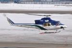 へりさんが、札幌飛行場で撮影した朝日航洋 412の航空フォト(写真)