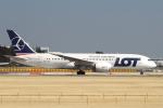 hiko_chunenさんが、成田国際空港で撮影したLOTポーランド航空 787-8 Dreamlinerの航空フォト(飛行機 写真・画像)