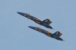 小弦さんが、フォックス飛行場で撮影したアメリカ海軍 F/A-18A Hornetの航空フォト(写真)