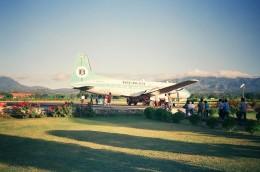atiiさんが、ワイ・オティ空港で撮影したボーラック・インドネシア航空 HS.748の航空フォト(飛行機 写真・画像)