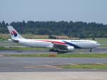鷹71さんが、成田国際空港で撮影したマレーシア航空 A330-323Xの航空フォト(写真)