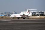 tsubasa0624さんが、羽田空港で撮影したウェルズ・ファーゴ・バンク・ノースウェスト G500/G550 (G-V)の航空フォト(写真)