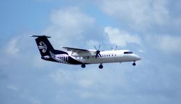 KAZKAZさんが、オークランド空港で撮影したエア・ネルソン DHC-8-311Q Dash 8の航空フォト(飛行機 写真・画像)