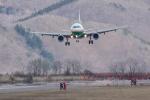 パンダさんが、函館空港で撮影したエバー航空 A321-211の航空フォト(飛行機 写真・画像)