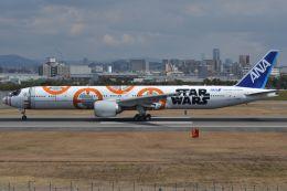 Korean Air KEさんが、伊丹空港で撮影した全日空 777-381/ERの航空フォト(飛行機 写真・画像)