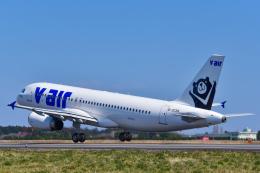 パンダさんが、茨城空港で撮影したV エア A320-232の航空フォト(写真)
