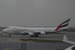 LEGACY-747さんが、香港国際空港で撮影したエミレーツ航空 747-4HAF/ER/SCDの航空フォト(飛行機 写真・画像)